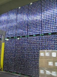 Wall of beer...no joke