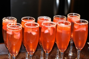 Strawberry Sparklers